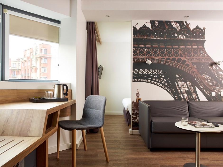 Junior suites paris median paris porte de versailles - Hotel median porte de versailles ...